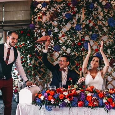 Ведущий вкусных событий, шоумен, свадьба 10