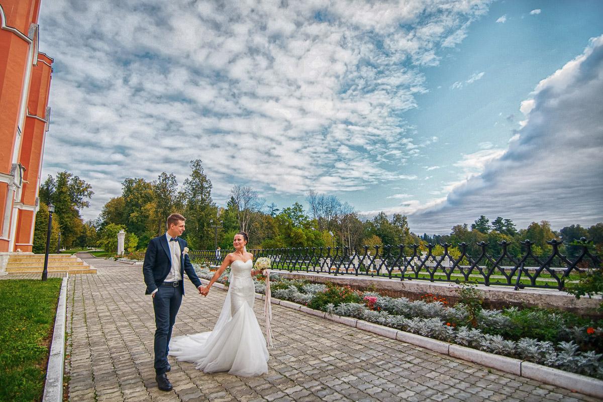 Марфино усадьба свадебная фотосессия